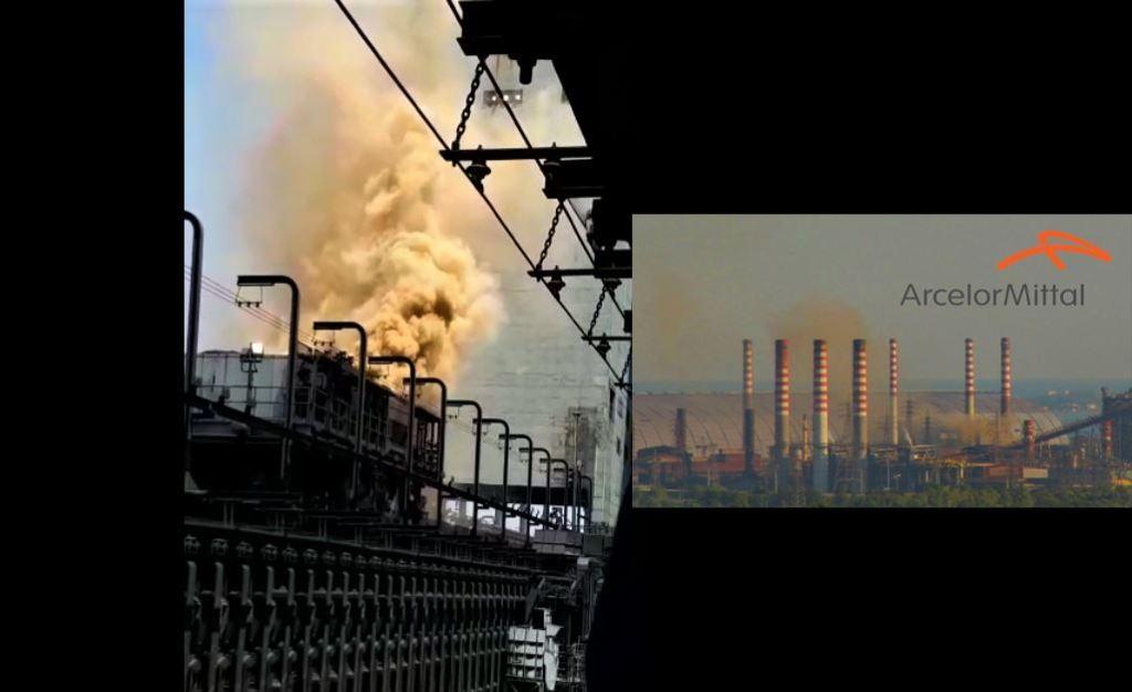 Le emissioni di ArcelorMittal - Pagina Facebook Luciano Manna