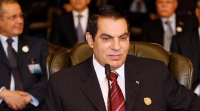 Ben Ali, il presidente deposto dalla Primavera araba