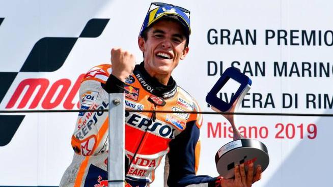 Marquez, messaggio a Rossi: