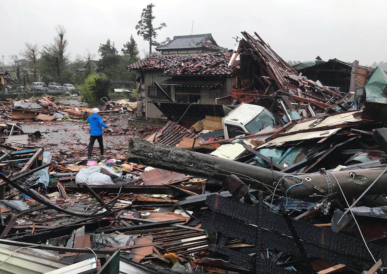 Tifone Hagibis, sale il bilancio delle vittime