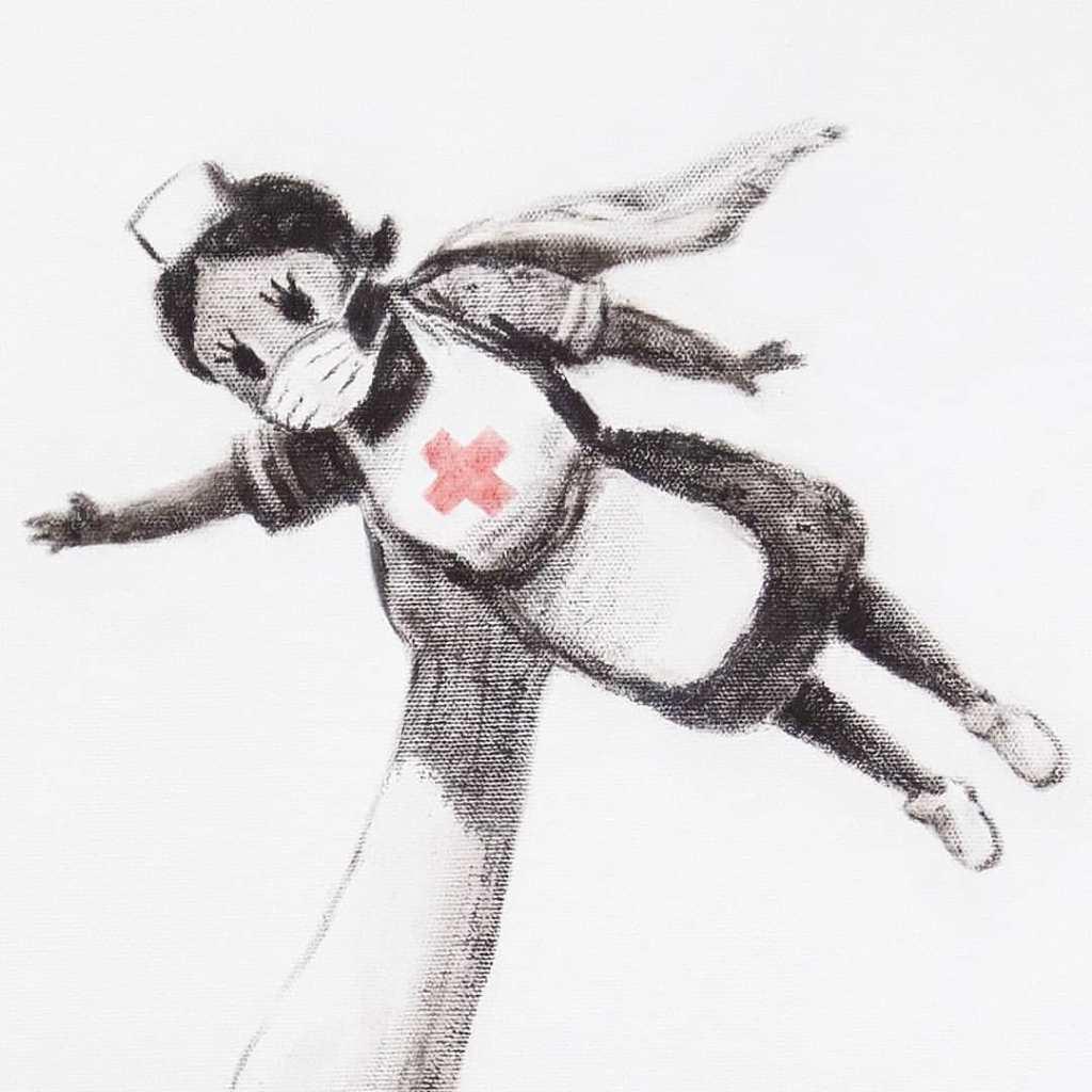 Banksy medici infermieri