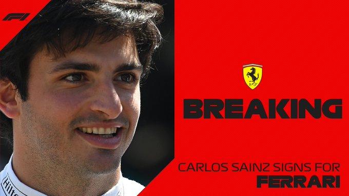 Carlos Sainz Jr ferrari