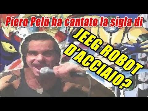Piero Pelù ha cantato la sigla di apertura di Jeeg Robot d'Acciaio?