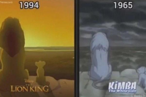Il Re leone (bianco) è un plagio clamoroso. Kimba vs Simba [VIDEO]