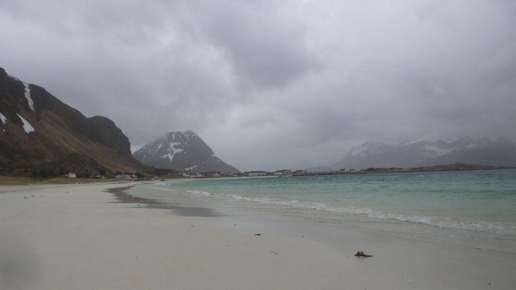 lofoten spiaggia