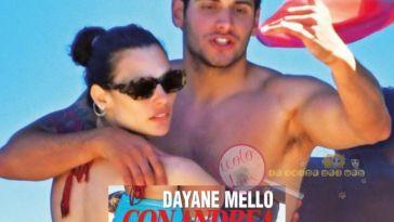 'Grande Fratello Vip' Dayane Mello pizzicata in barca mentre si bacia con un aitante giovanotto. E l'amore con Mario Balotelli?