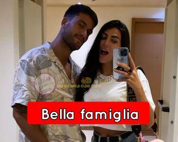'Grande Fratello Vip' Serata d'amore e soprattutto di famiglia per Pierpaolo Pretelli e Giulia Salemi!