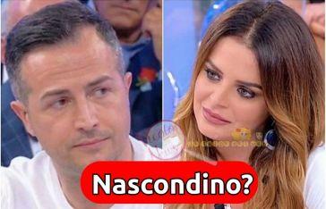 'Uomini e Donne' Riccardo Guarnieri gioca a nascondino con Roberta Di Padua…