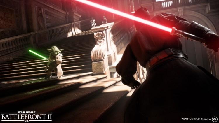 Star Wars Battlefront II Yoda