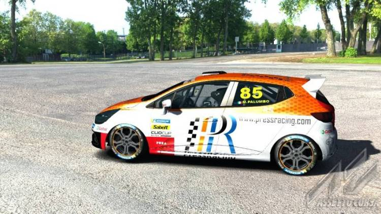 Clio Cup Italia eSport Series Press Racing