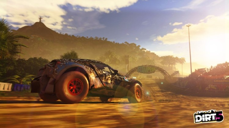 Dirt 5, gameplay tempesta di sabbia - IlVideogioco.com