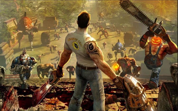 Serious Sam 4, inizia il massacro su Pc e Stadia - IlVideogioco.com