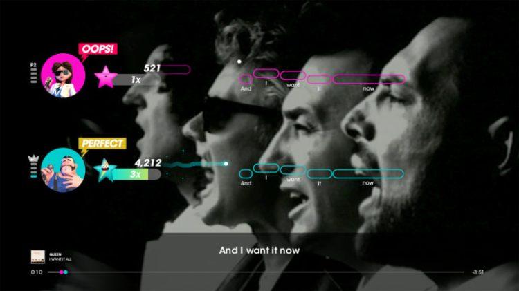 Let's Sing presents Queen sale sul palcoscenico - IlVideogioco.com