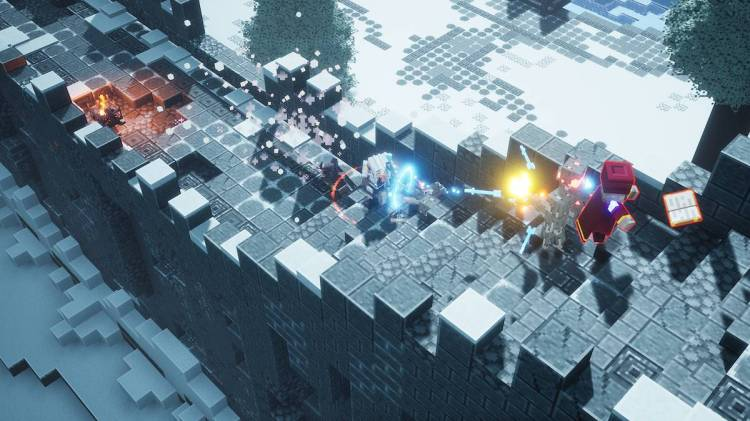 Minecraft Dungeons, disponibile il dlc Creeping Winter - IlVideogioco.com