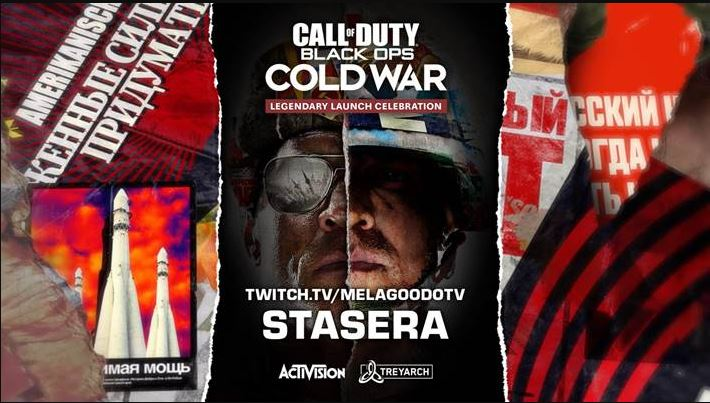 Call of Duty Black Ops: Cold War, ecco l'evento di lancio