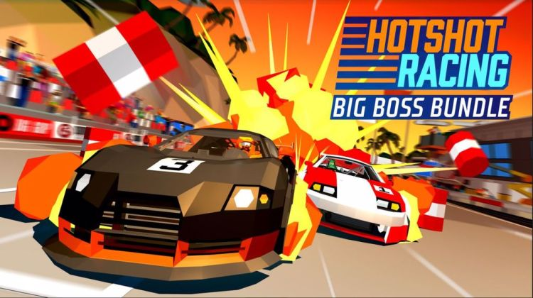 Hotshot Racing, disponibile gratuitamente il Big Boss Bundle