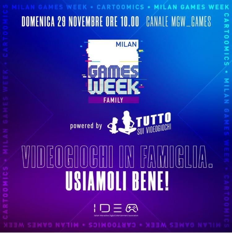 Milan Games Week 2020, IIDEA presenta il portale Tuttosuivideogiochi.it - IlVideogioco.com