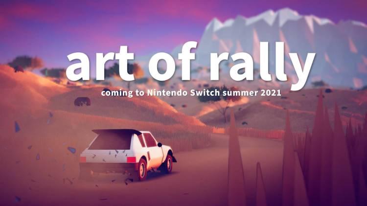 Lo stiloso Art of Rally drifta su Switch in estate - IlVideogioco.com