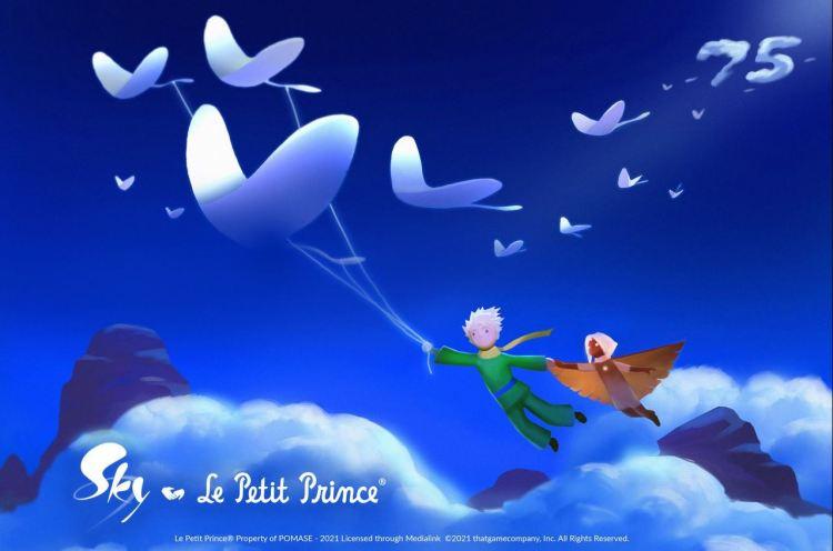 Sky: Children of the Light, ecco il crossover con Il Piccolo Principe
