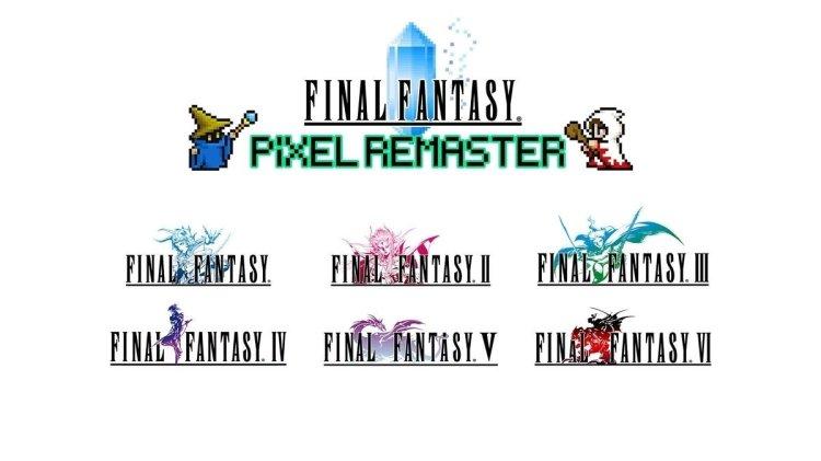 Final Fantasy Pixel Remaster uscirà il 28 luglio per Pc e mobile