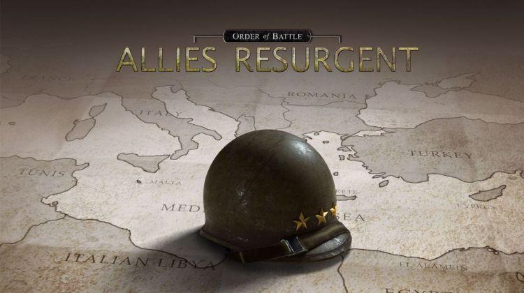 Order of Battle: World War II, annunciata l'espansione Allies Resurgent
