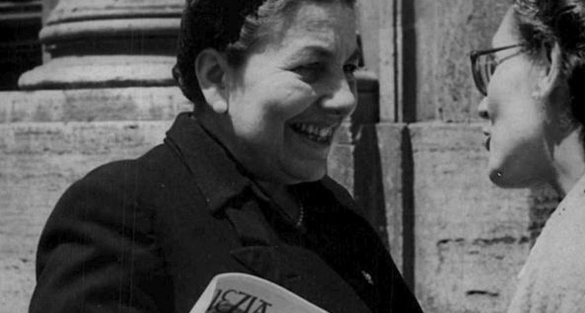 Luisa Ciambella chiede di commemorare Maria Guidi Cingolani