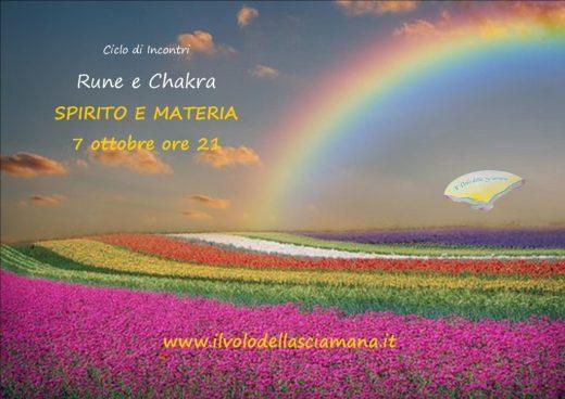 incontro Spirito e materia - ciclo Rune e Chakra