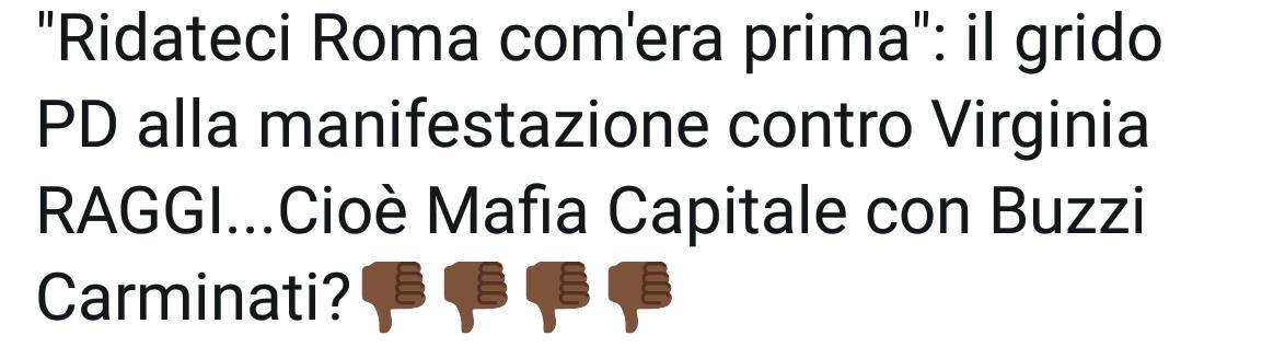 """Roma: le manifestanti del PD gridano """"ridateci Roma com'era prima"""""""