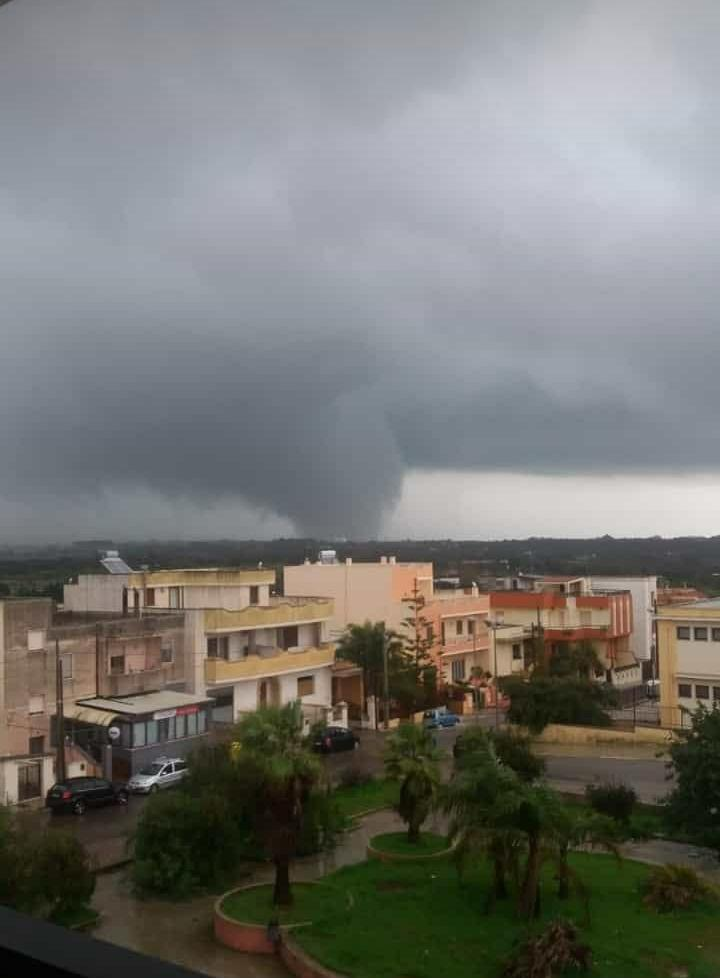 Aggiornamento: Tornado nel Salento risulta un disperso