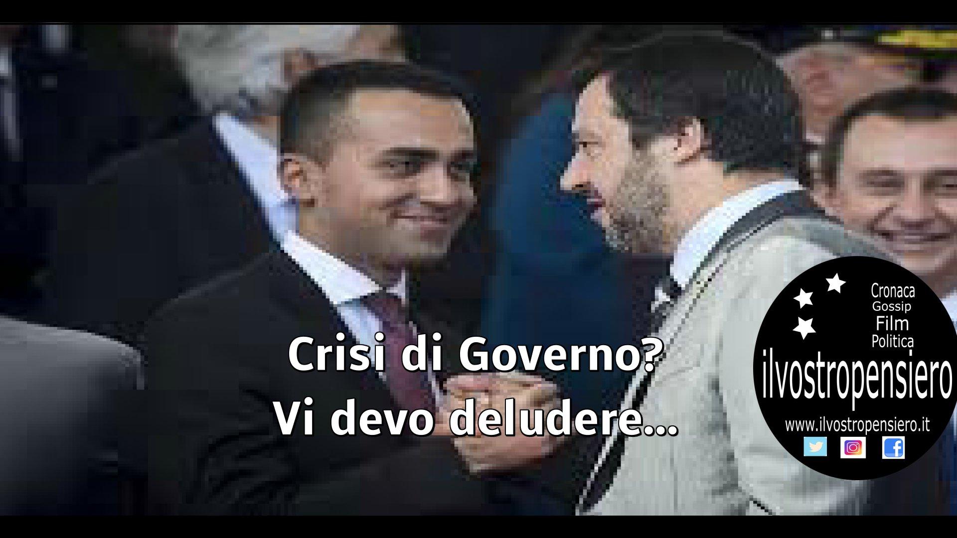 Tav: Matteo Salvini, crisi di governo?vi devo deludere Di Maio ieri mi ha anche fatto gli auguri