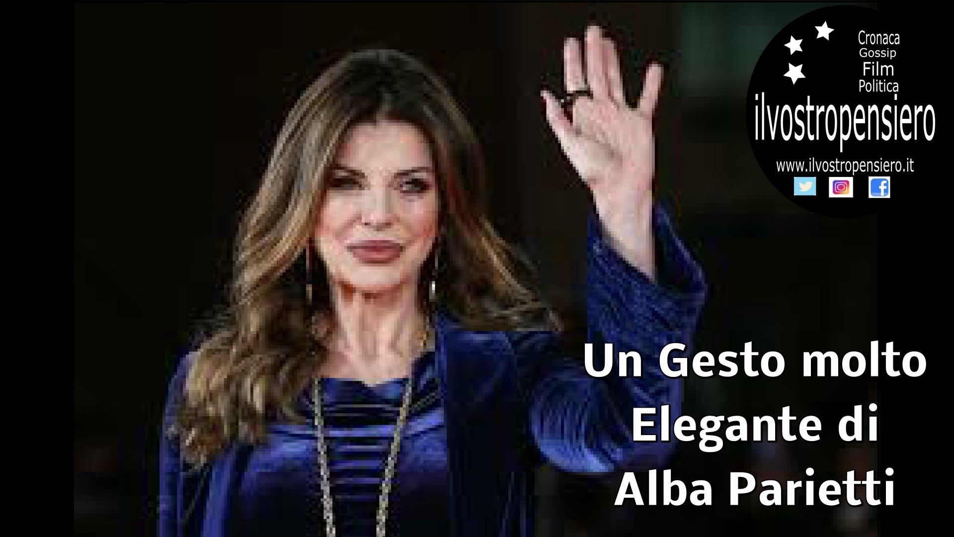 Isola dei famosi 2019: gesto molto elegante di Alba Parietti a.... (Guarda il video)