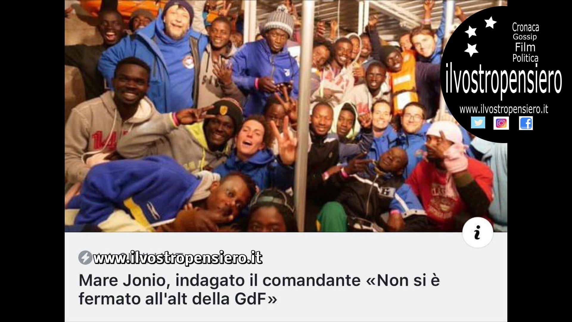 """Matteo Salvini: """"Convalidato dalla procura il sequestro della Mare Jonio"""""""