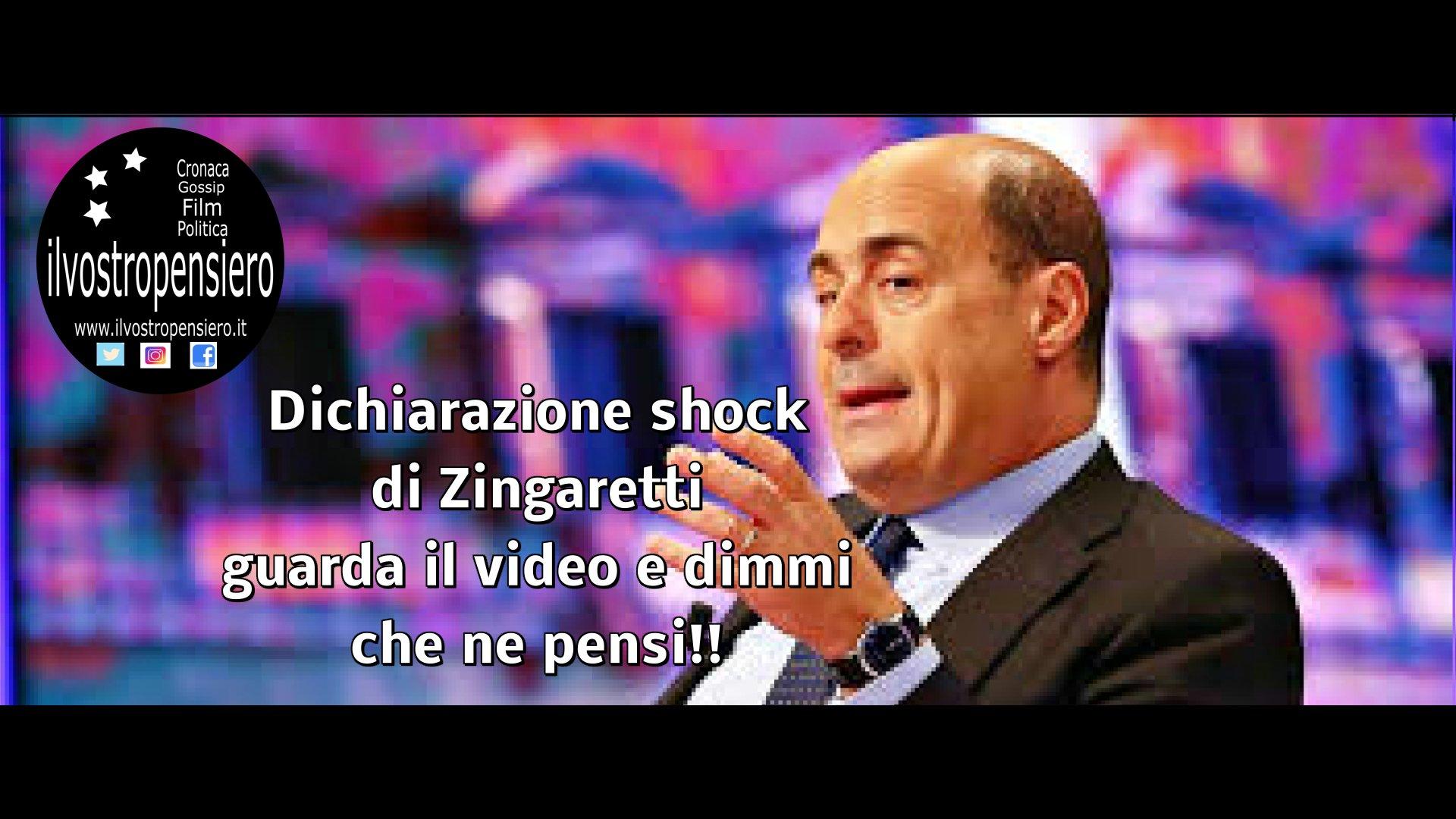 Per Zingaretti i Parlamentari non guadagno molto,guarda il video