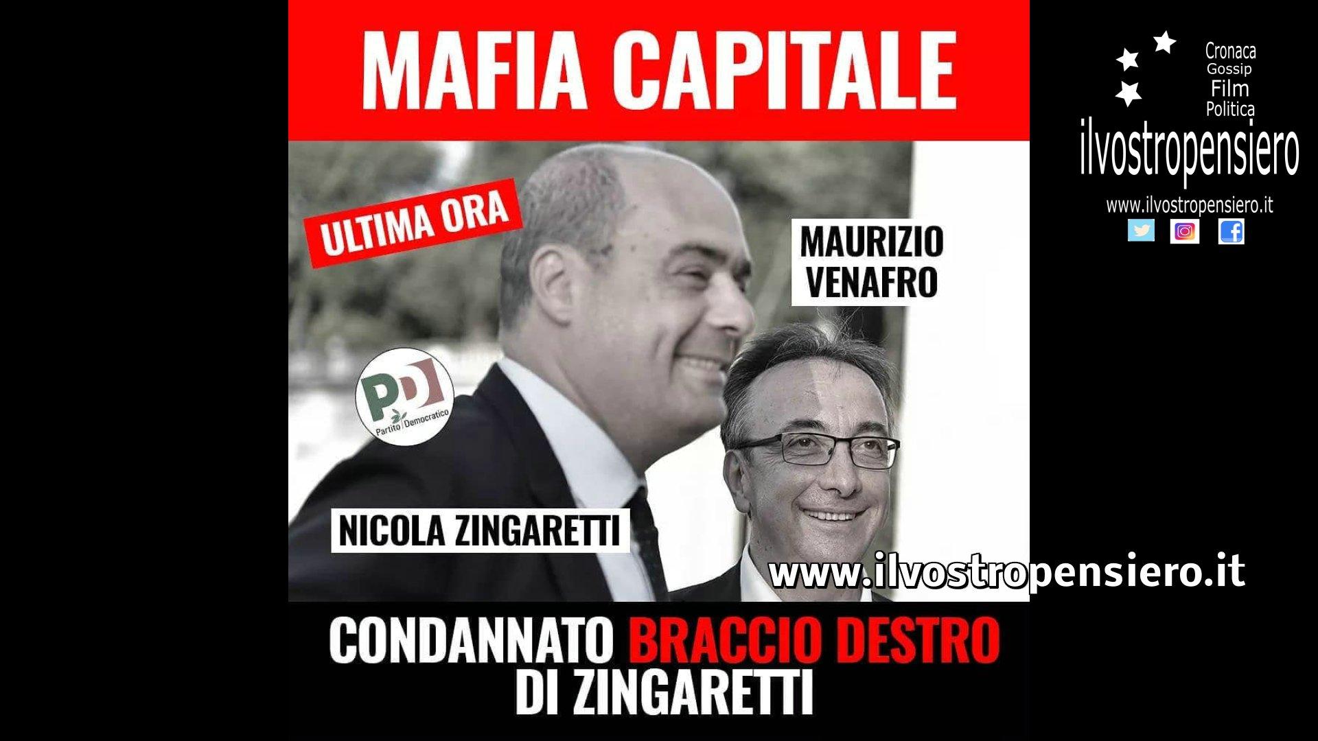 Movimento 5 stelle: ULTIMA ORA MAFIA CAPITALE,condannato il braccio destro di Zingaretti