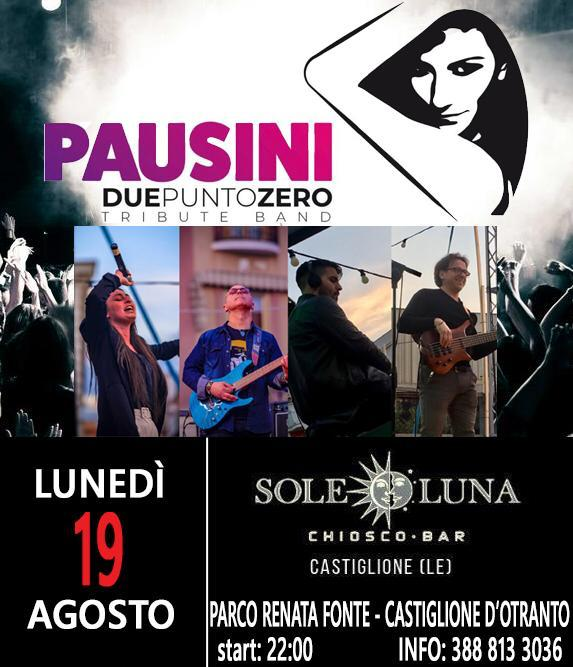 Chiosco bar sole luna arriva la cover Band di Laura Pausini