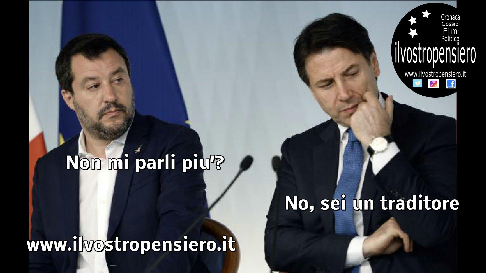 Il Leghista Salvini messo alle strette dal Movimento 5 stelle