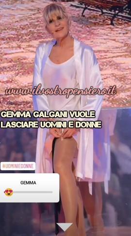 Uomini e donne: Gemma Galgani pronta a lasciare il programma.