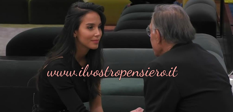 Gfvip: CHIARIMENTO TRA PAOLA DI BENEDETTO E FABIO TESTI