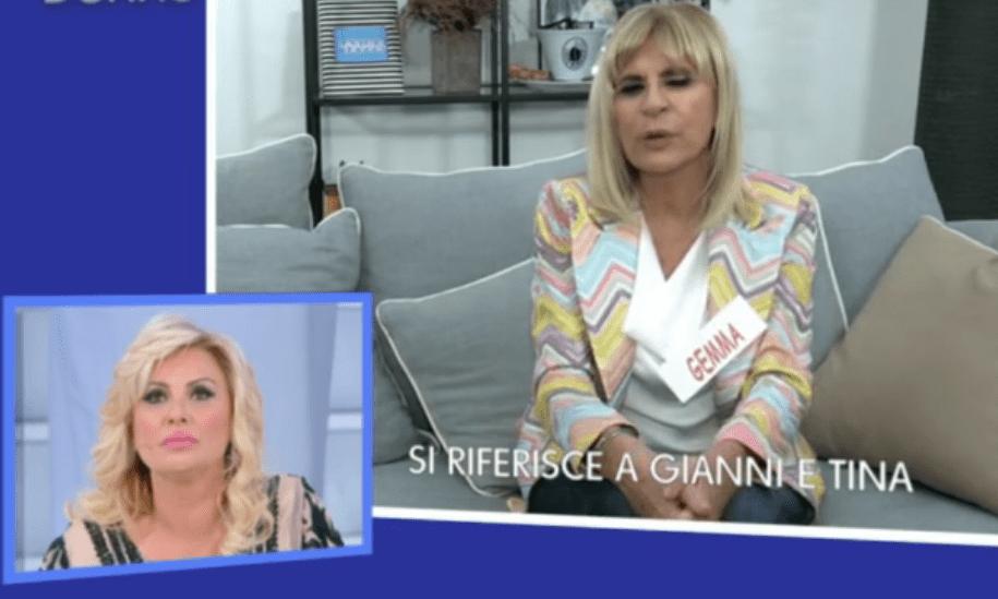 """Uomini e donne: Gemma, """"tina apre la bocca per dire cretinate"""", video."""
