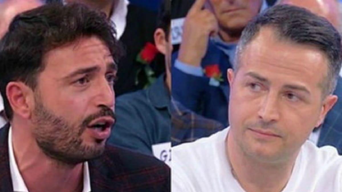 Uomini e donne: rissa tra Riccardo e Armando.