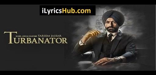 Turbanator Lyrics - Tarsem Jassar