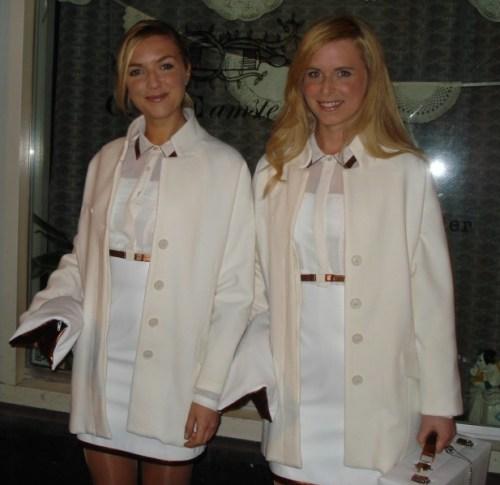 Modellen klaar voor de Elyx Absolut club tour