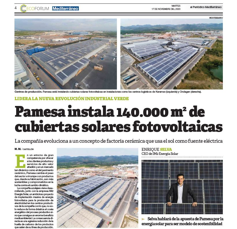 diario Mediterráneo Pamesa
