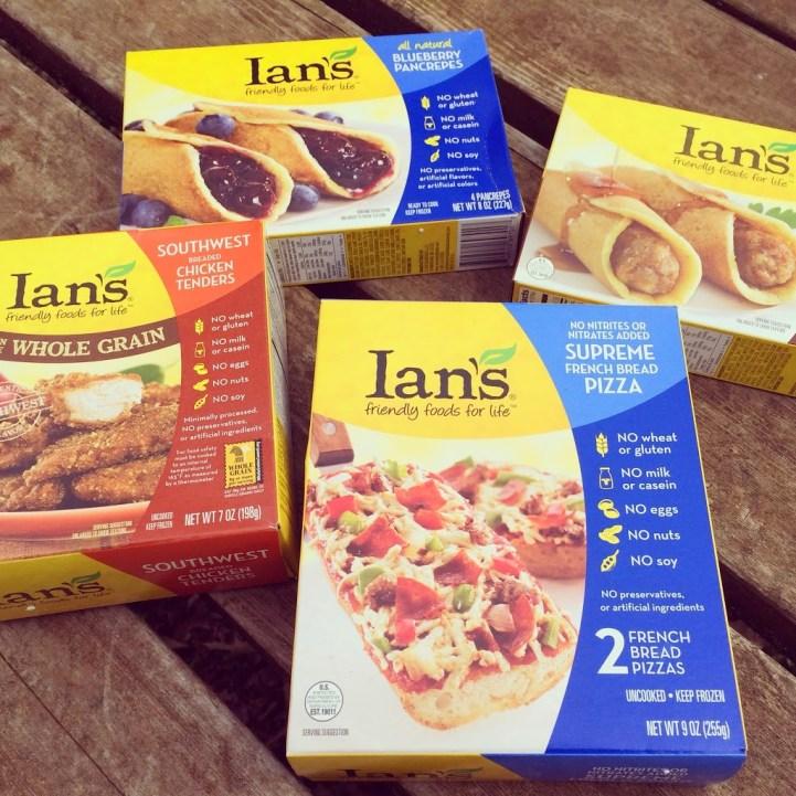 Gluten Free Goodies from Ian's