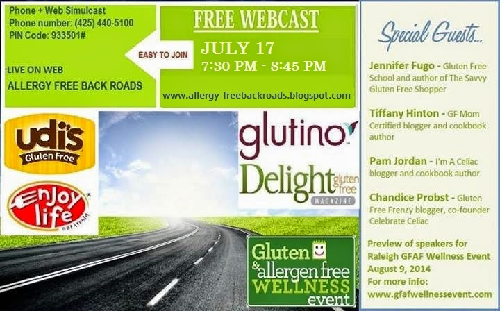 Free Webcast July 17th 7:30pm EST  #GFAFEvent