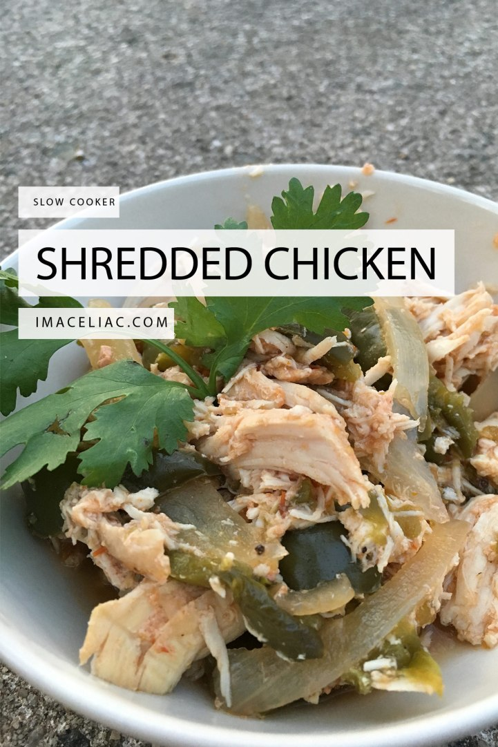 Shredded Chicken and Vegetables