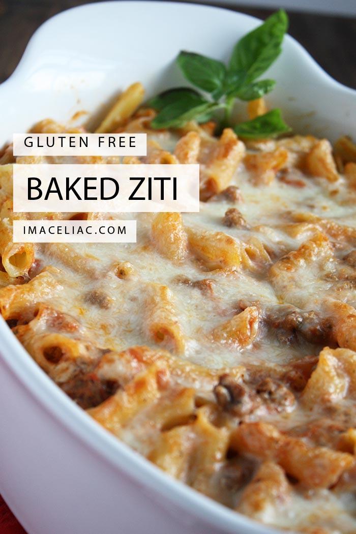 Gluten Free Baked Ziti