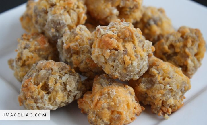 Gluten Free sausage ball recipe that you can't stop eating