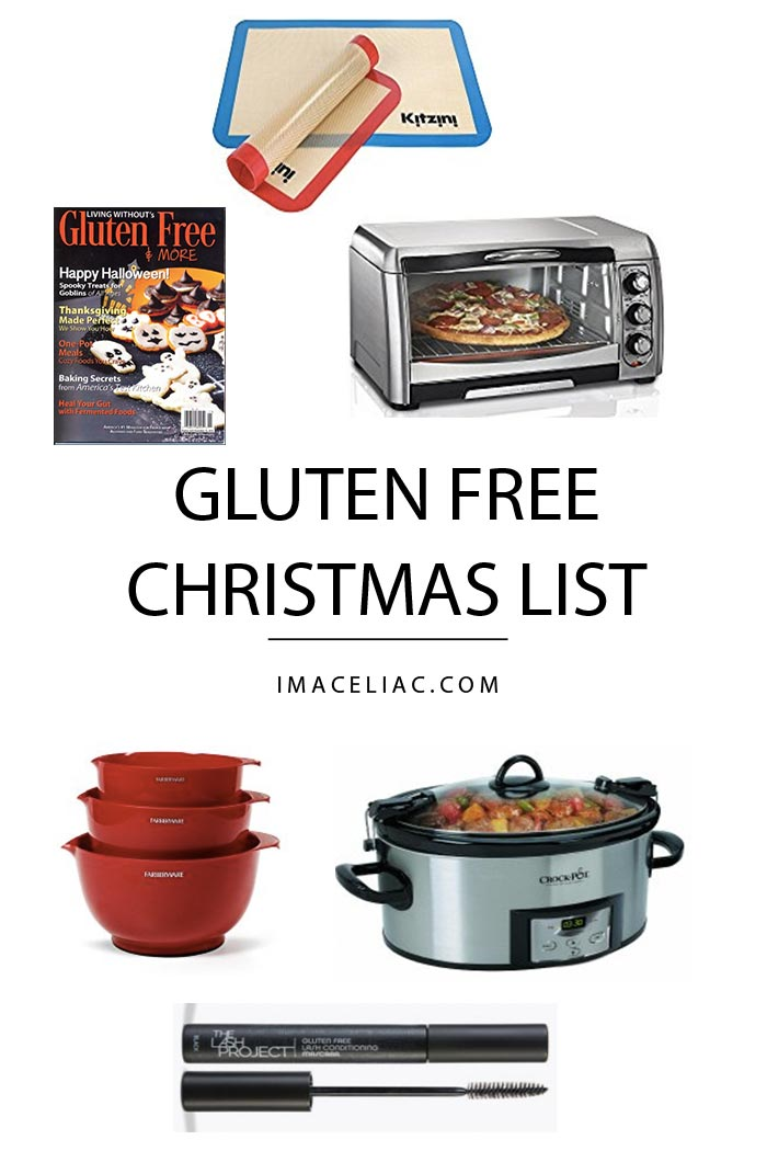 2016 Gluten Free Christmas Wish List