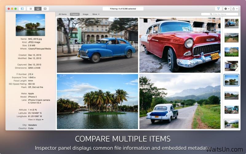 Fileloupe for Mac 1.1 破解版 – 万能的文件预览工具